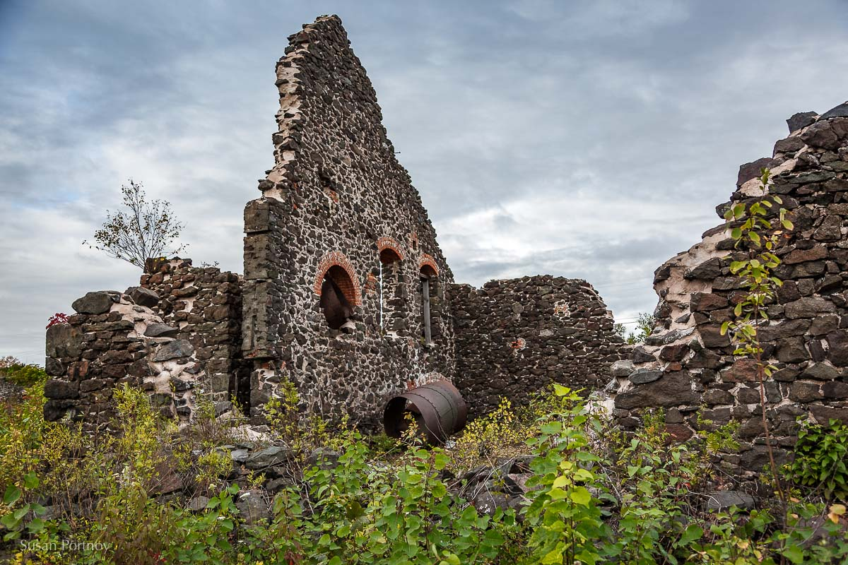 Ruin at the Quincy Mine, Houghton, MI