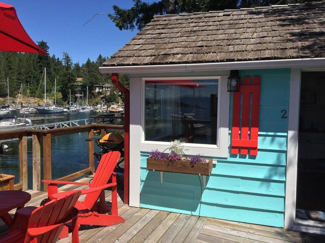 Cottage at John Henry's Resort, Pender Harbour, British Columbia
