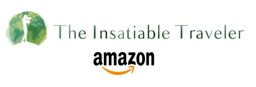 Amazon Logo for The Insatiable Traveler