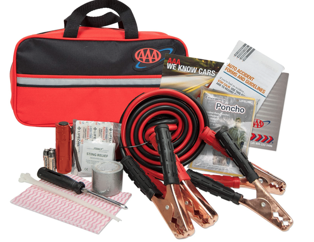 While a road kit is far from the most personal gift, it's one of those things people hate to spend their own money on but love to receive. Road trips are a great way to escape but require some preparation; otherwise, they may turn into nightmares. This 42-piece kit includes everything you might need if your car breaks down or some other emergency, including jumper cables, flashlight, tools batteries, and rain poncho, among other useful items.