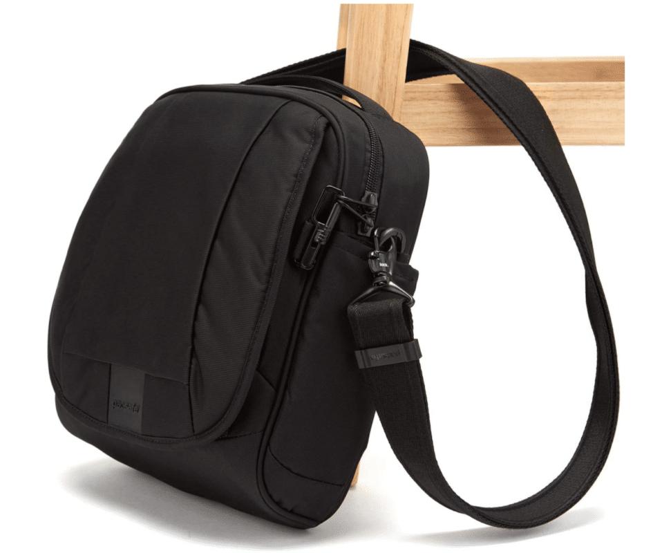 Pacsafe Metrosafe LS200 Anti Theft Shoulder Bag, 7 Liter