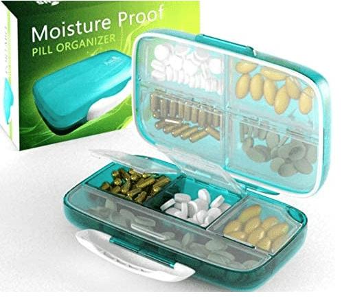 Moisture Proof Pill Organizer