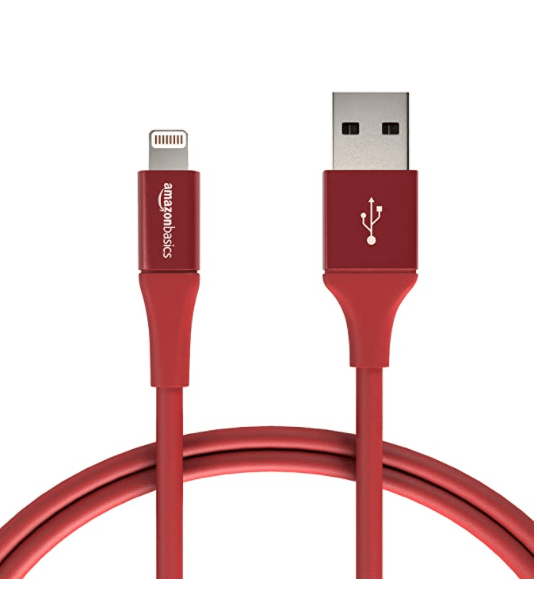 AmazonBasics USB A Cable with Lightning Connector