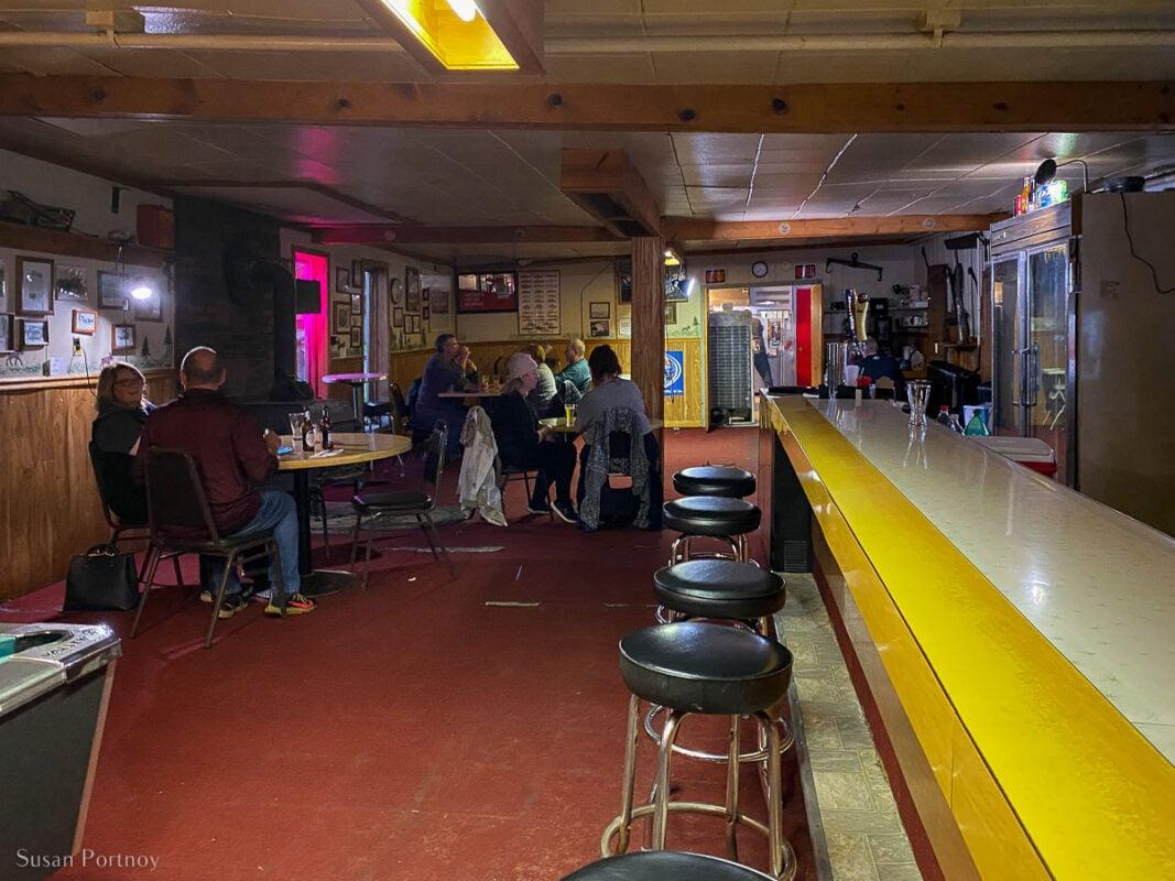 Inside Trout Lake Tavern in Trout Lake, Michigan Upper Peninsula